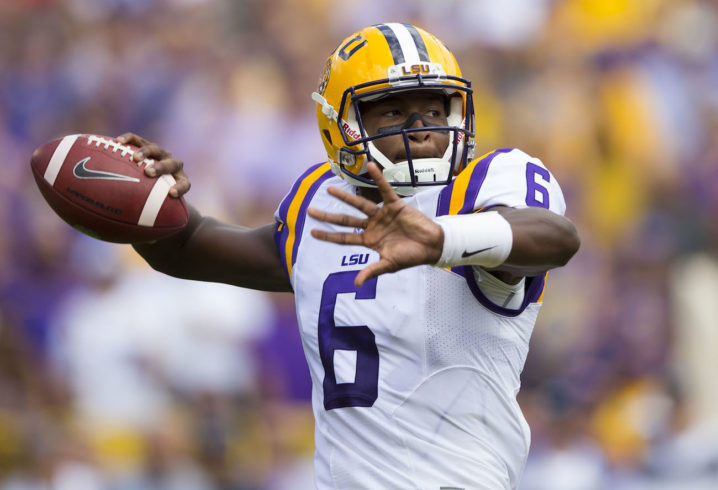 North Carolina officially adds former LSU QB Brandon Harris