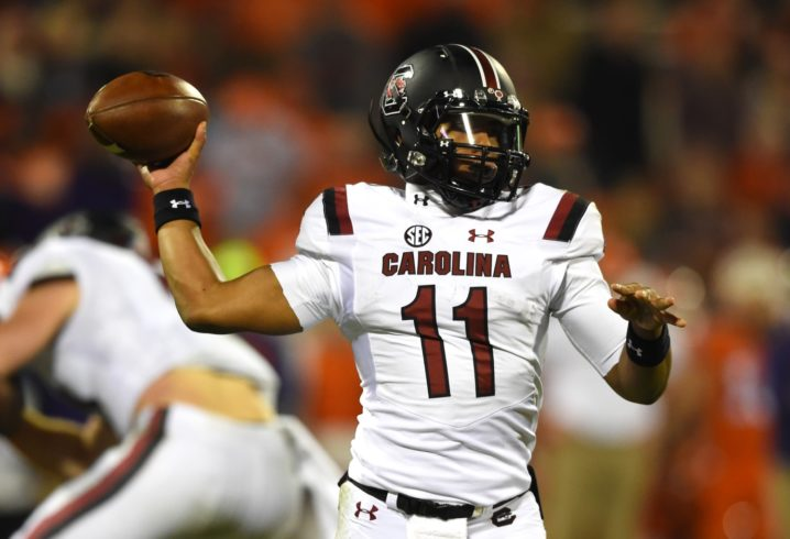 Former South Carolina QB Brandon McIlwain says he's going to Cal
