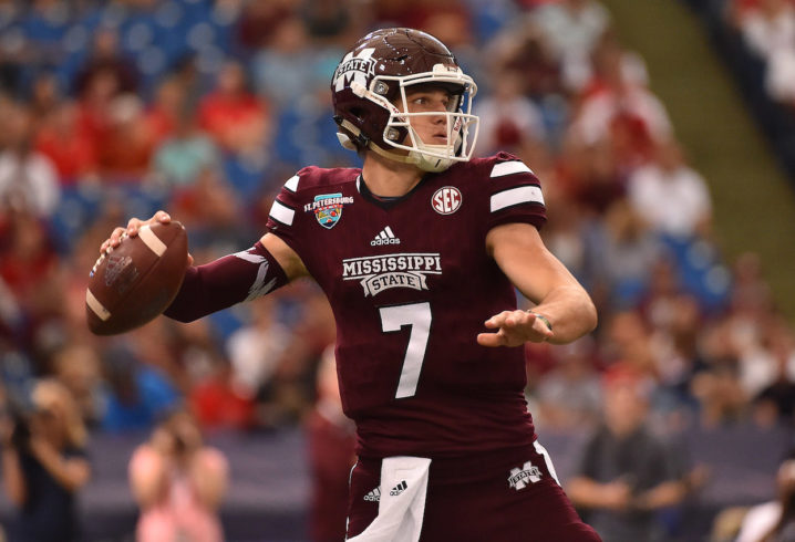 Nfl Scout Compares Draft Profiles Of Mississippi State Qb Nick