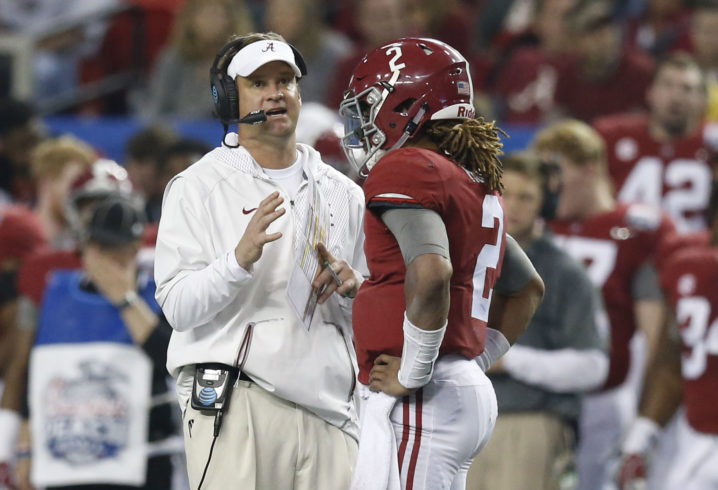 Lane Kiffin offers 13-year-old quarterback for class of 2022