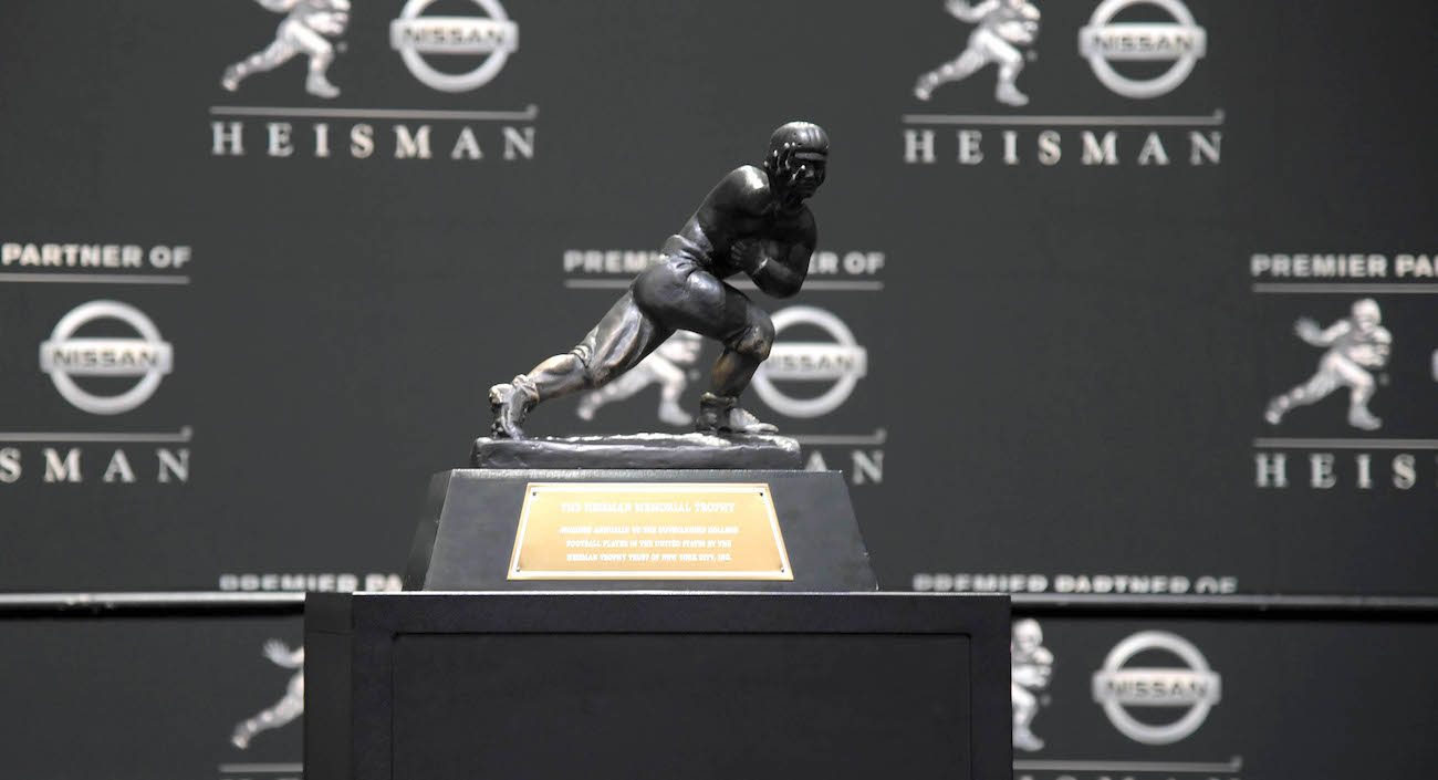 Bovada's opening 2018 Heisman Trophy odds features several SEC players