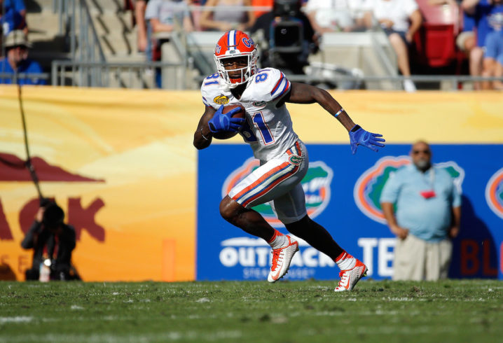 Florida Gators WR Antonio Callaway Reportedly Cited For Marijuana Possession
