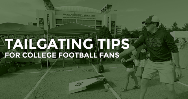 TAILGATING TIPS COLLEGE FOOTBALL