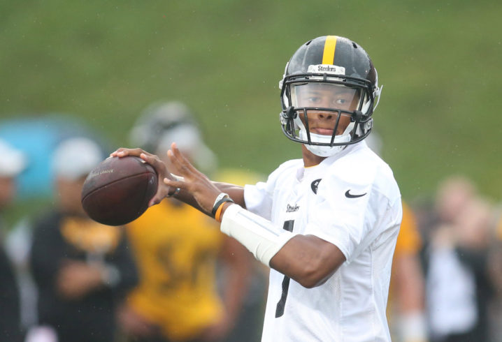 53b36fd2ab4 QB Joshua Dobbs could start Steelers first preseason game