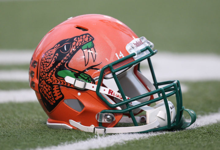 3907a078b LOOK: Florida A&M penalized for wearing illegal uniforms against Arkansas
