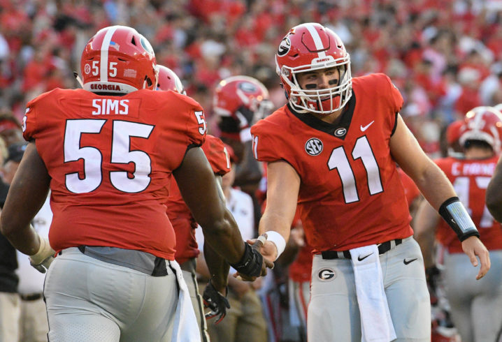 0ae118f0e Jake Fromm is Kirby Smart s kind of quarterback. Ultimately