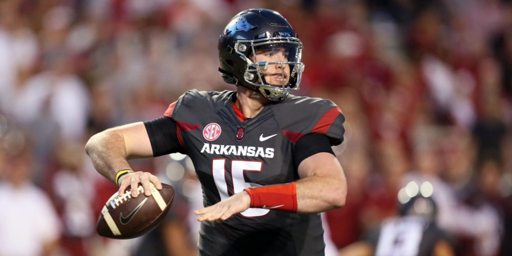 Mississippi State Qb Injury Video >> Bret Bielema updates status of QB Cole Kelley after DWI suspension