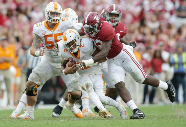 How Last Year S Clemson Loss Motivated Alabama On Goal Line Stand Vs