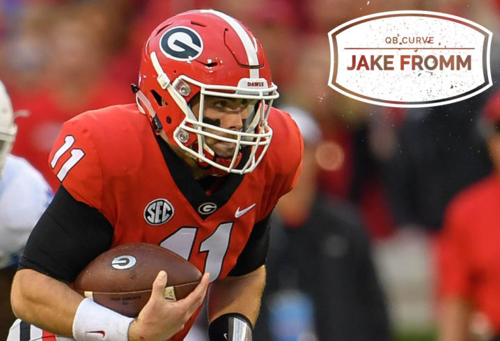 846d5ed96 QB Curve  Jake Fromm won Georgia s trust. Can he win on the biggest stage