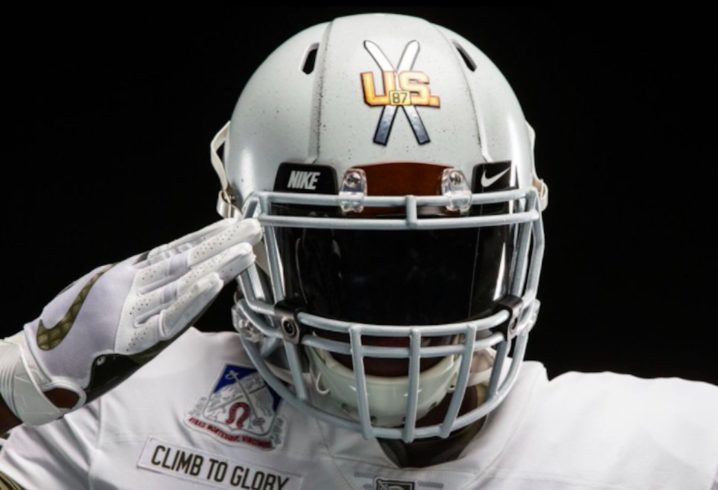4a089378c LOOK  Army unveils incredible jerseys to honor 10th Mountain Division for  Army-Navy game