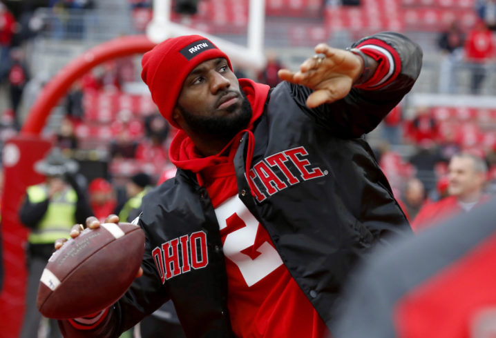 65c17563902d Even Ohio State superfan LeBron James thinks Alabama deserved the final  Playoff spot