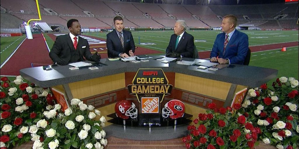 College Gameday Sec Nation Crews Make New Year S Day