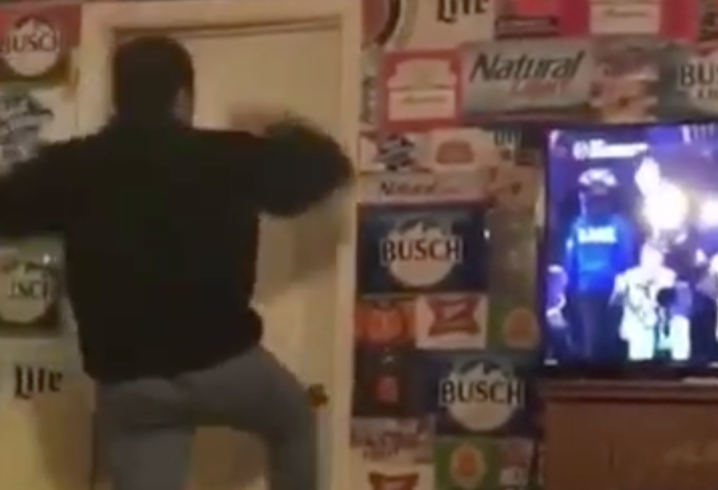 WATCH Georgia fan destroys door in a fit of rage after Alabama wins National Ch&ionship Game & WATCH: Georgia fan destroys door in a fit of rage after Alabama wins ...