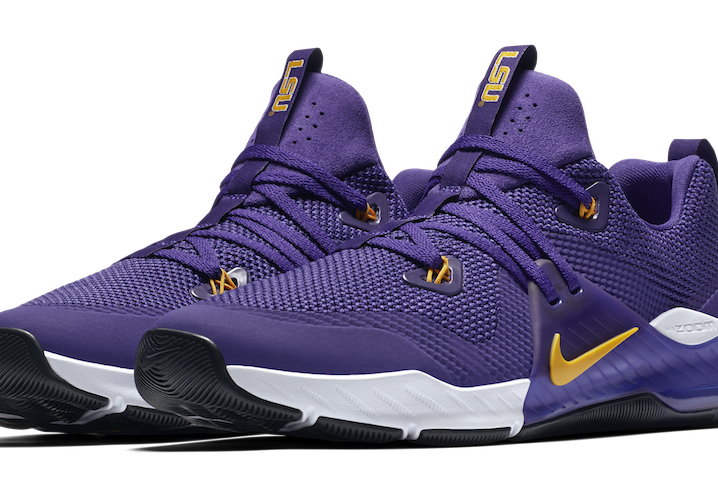 big sale 933f3 7bd65 Nike releases LSU edition 'Zoom Train Command' shoe. Here's how to buy them  before they sell out.