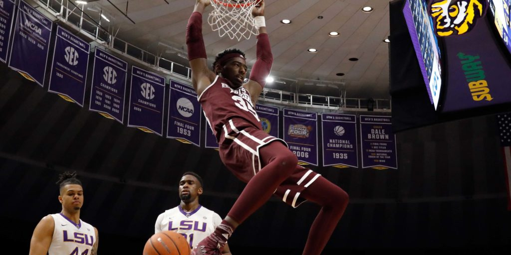 Mississippi State survives late LSU rally, headed to quarterfinals of SEC Tournament