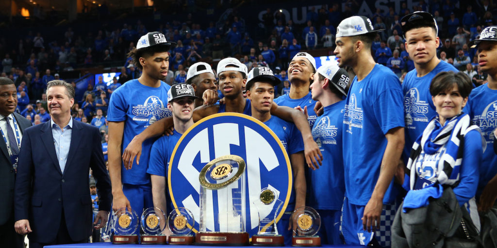 Kentucky Wildcats Basketball 2018 Sec Matchups Revealed: Record 8 SEC Teams Make NCAA Tournament