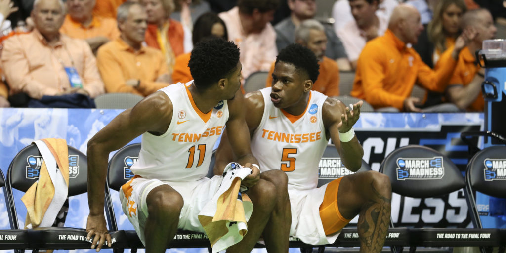 Alabama Starting Lineup >> Tennessee announces starting lineup change for NCAA ...