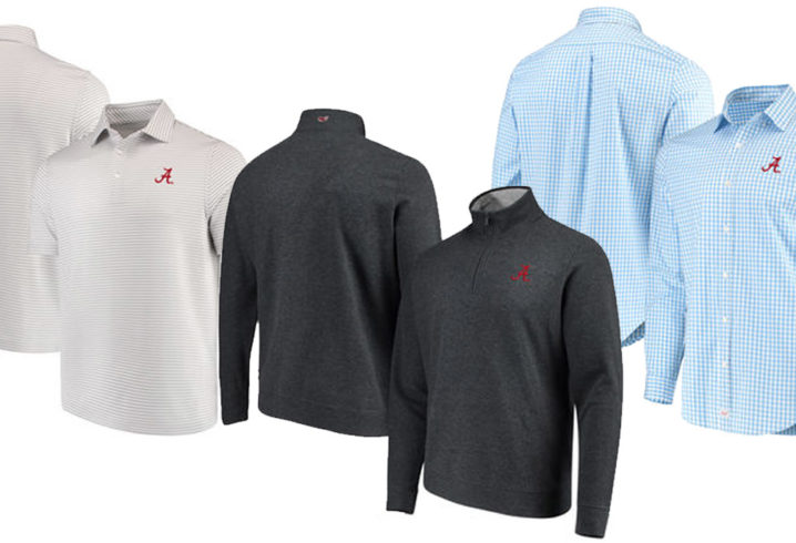 c5f730a4593 Vineyard Vines reveals a line of Alabama Crimson Tide apparel. Here s how  you can buy the new gear.