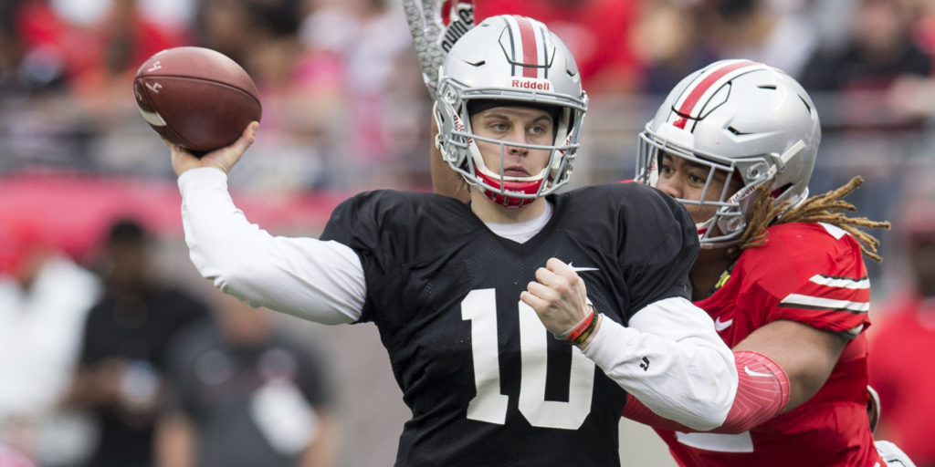 QB Joe Burrow is transferring from Ohio State. A handful ...