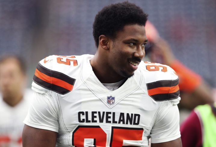 2ff1d044bc4e Let s just say Myles Garrett wasn t crazy about Kevin Durant s move to  Golden State