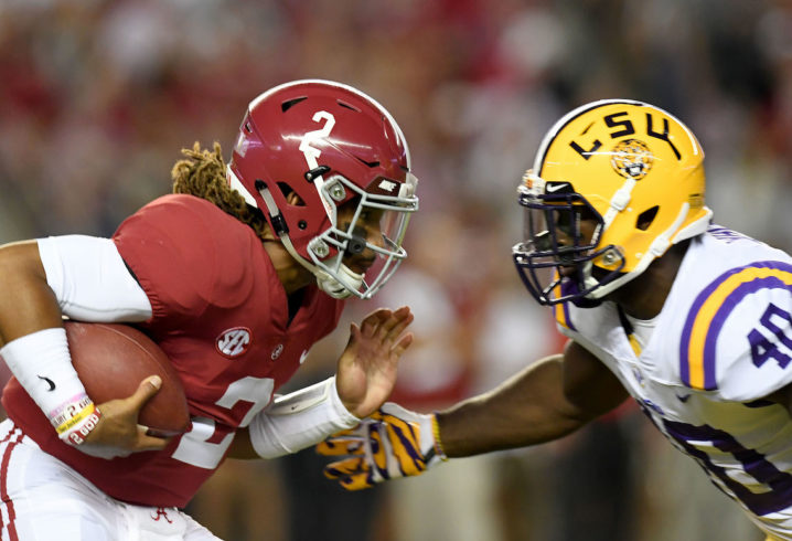 How Alabama S Playoff Chances Would Be Affected By A Loss To Lsu