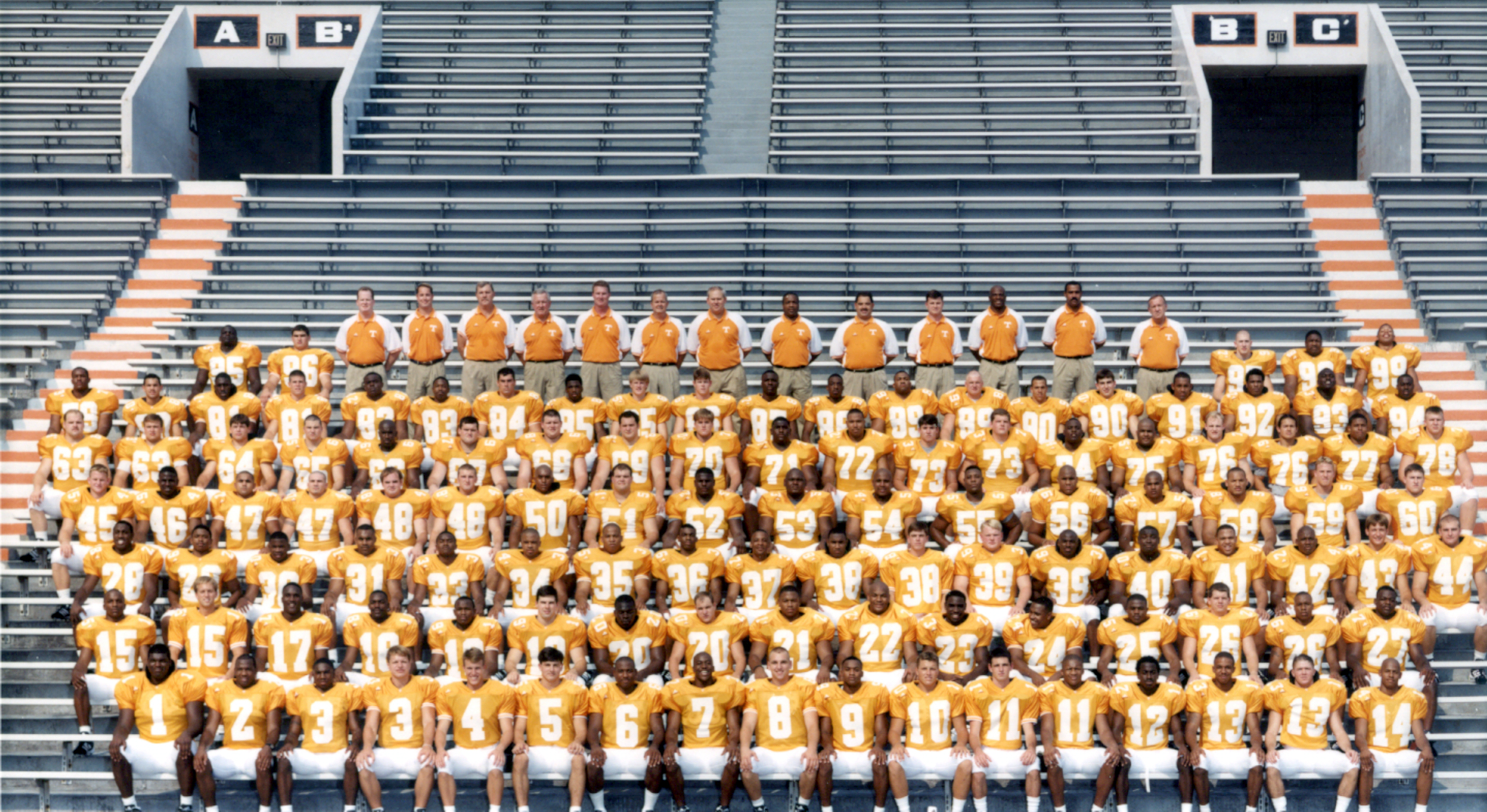 The 1998 National Champion Vols Where Are They Now