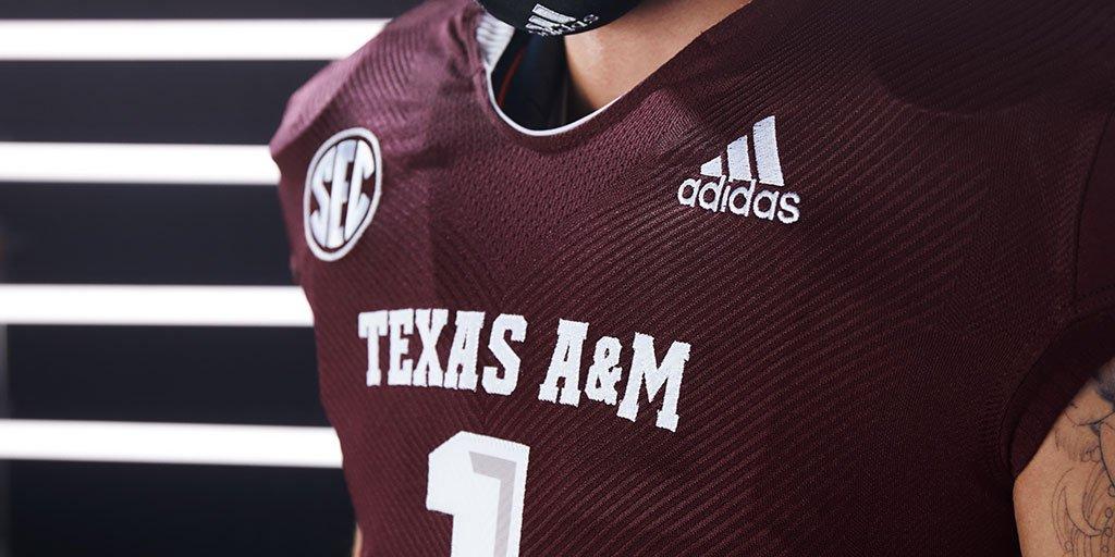 WATCH: Texas A&M reveals adidas Primeknit A1 football uniform for ...