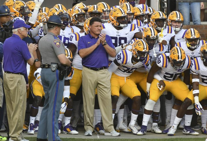 SDS Crystal Ball  Predicting every game for LSU football in 2018 b02605dfb