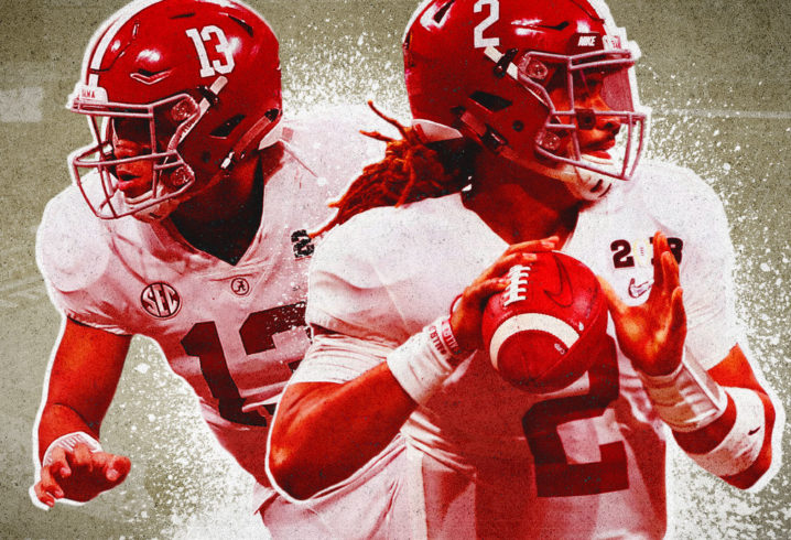 QB Curve  Jalen Hurts or Tua Tagovailoa  There is no wrong choice in  Alabama s QB derby (but one is more right than the other) 7ff1e3226