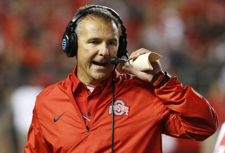 588678a43 Ohio governor John Kasich offers support to Urban Meyer during investigation