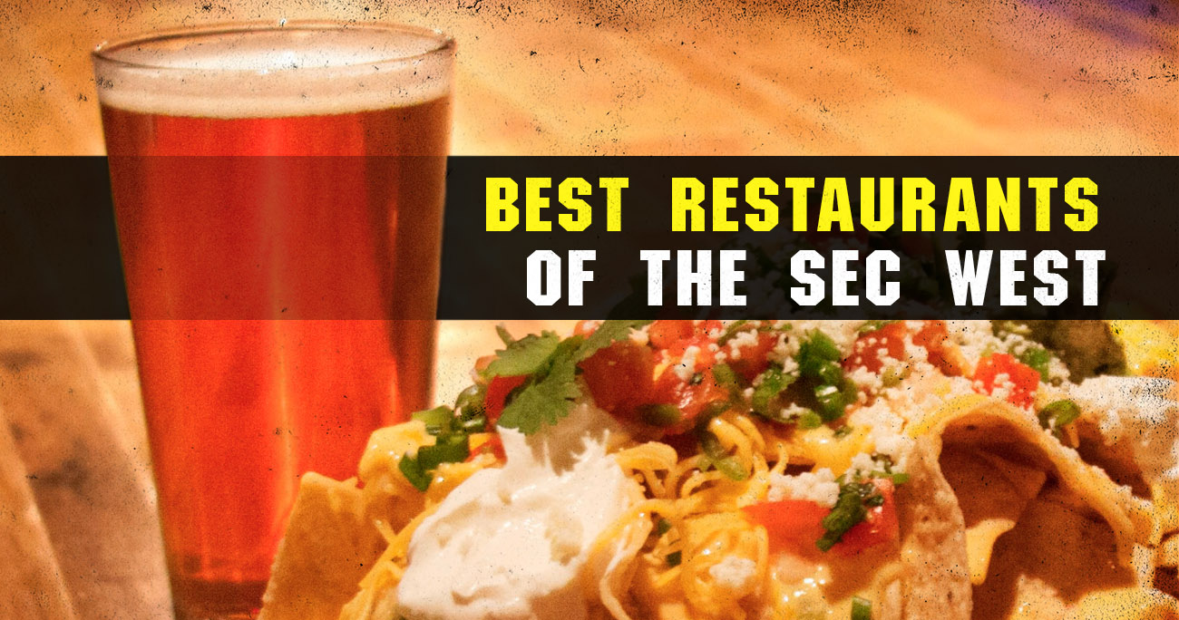 4a84a8ed5fb The 3 best restaurants in each SEC West town