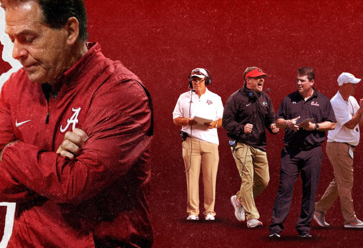 Monday Down South  Alabama looks unstoppable. Nick Saban looks like he  can t stand to watch f39b55a5e