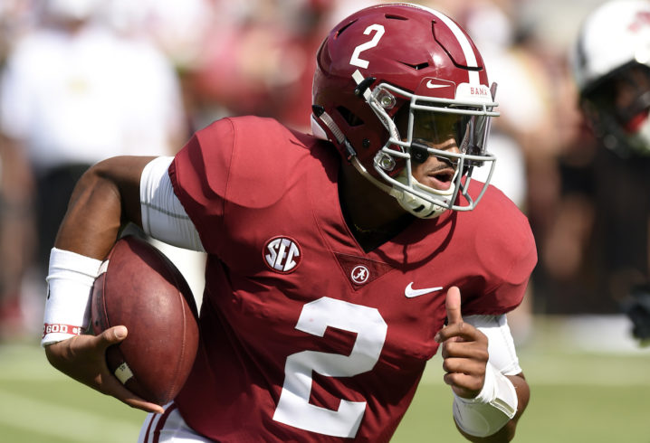 Oklahoma QB Jalen Hurts plans to  go out with a bang  as member of Sooner  program 93695b042