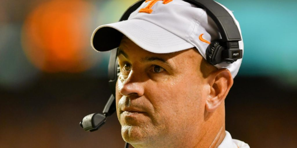 Jeremy Pruitt confirms that a Tennessee player left field ...
