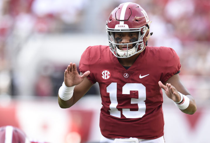 Alabama football  Offense continues to thrive under QB Tua Tagovailoa 7893687a1