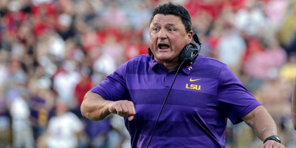 Itmightmeantoomuch Ed Orgeron S Red Bull Smashing