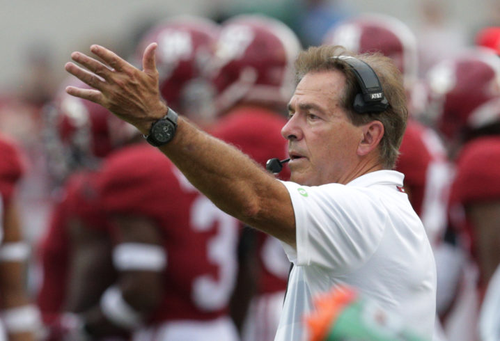 Image result for nick saban you don't always get what you want