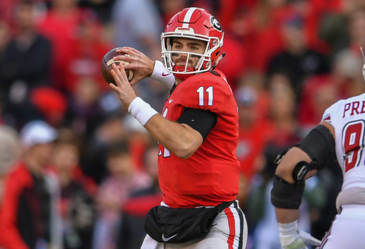 453bcce24 Why Jake Fromm is more prepared for a shootout than he was last year  against Alabama