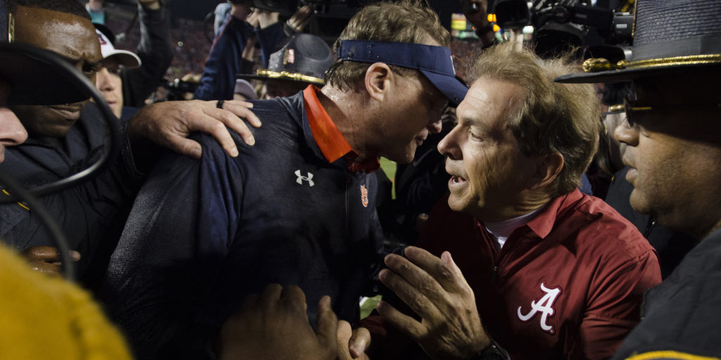 Some advice for Iron Bowl week: Don't let 2017 factor into your 2018 thinking