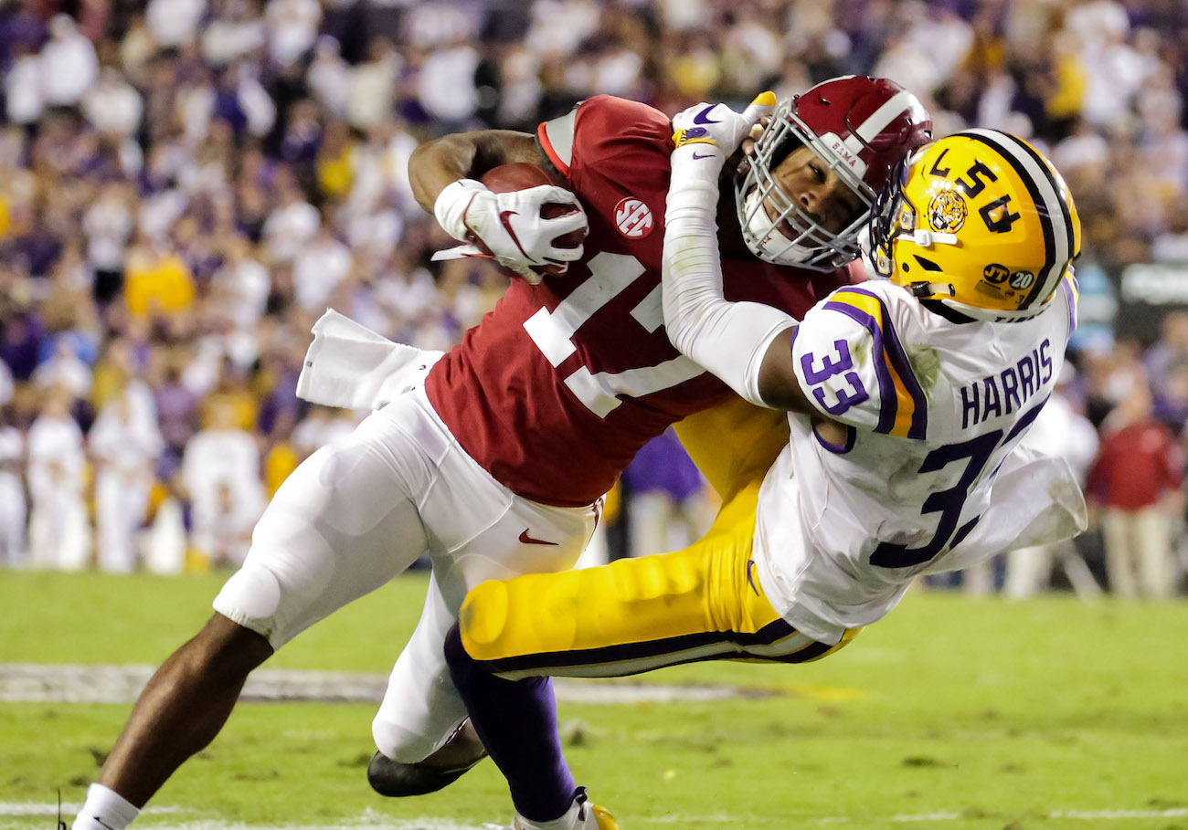 Game of the Year? Alabama-LSU dominates ratings for 2018