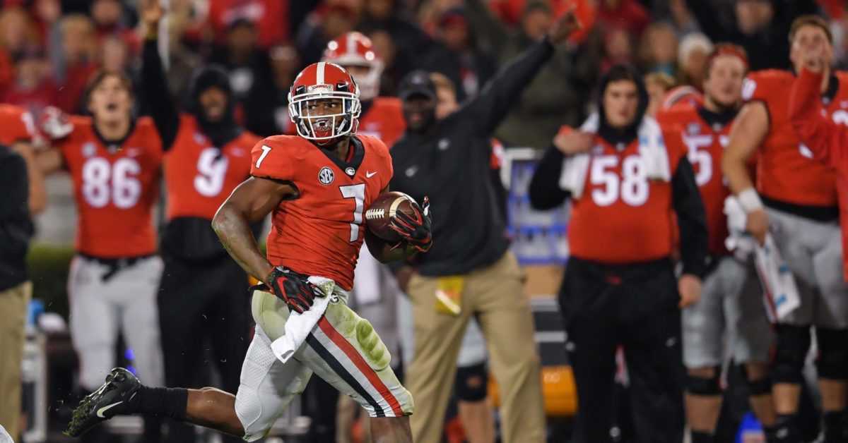 Kirby Smart has 'no doubt' D'Andre Swift can carry the ...