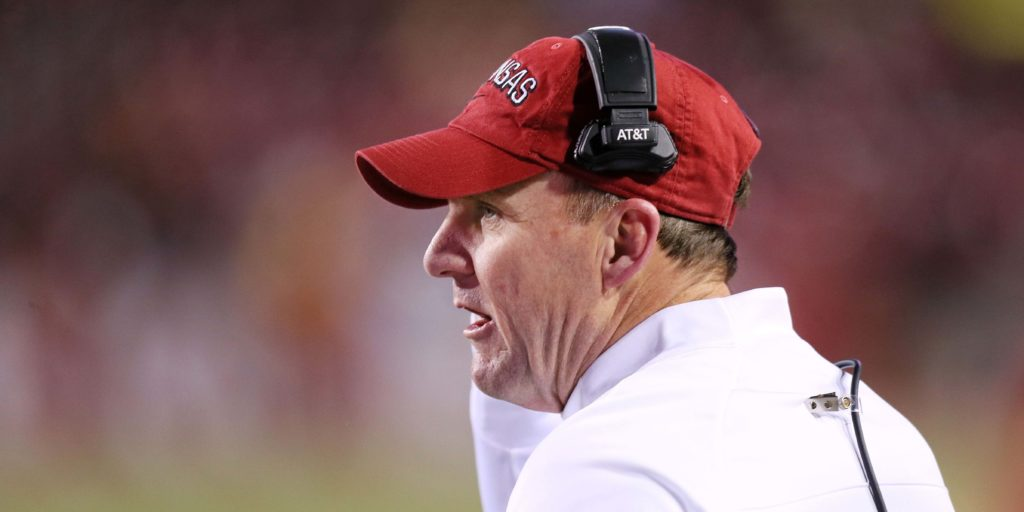 5 observations from Chad Morris' first 10 games as Arkansas' coach