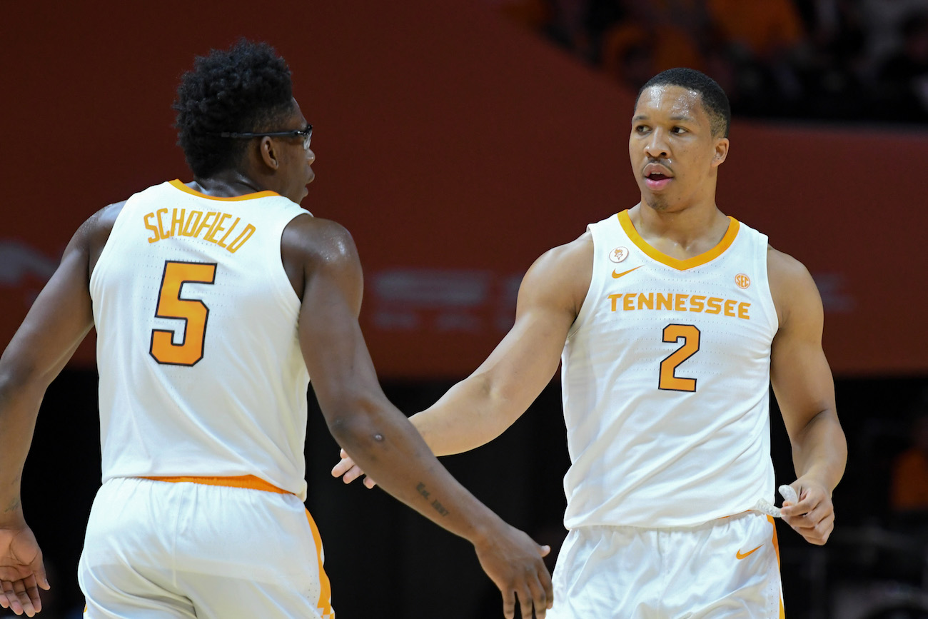 reputable site d34b2 b64c5 LOOK: Tennessee basketball to wear awesome throwback jerseys ...