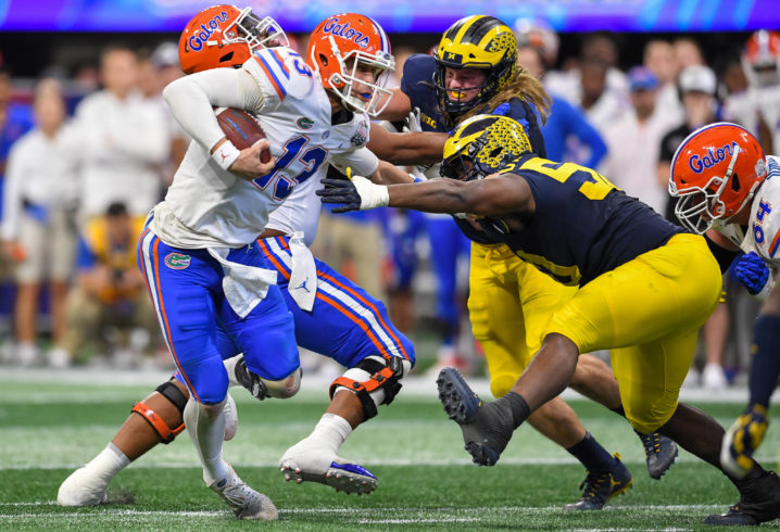 peach bowl rout of michigan may only be beginning for franks and gators