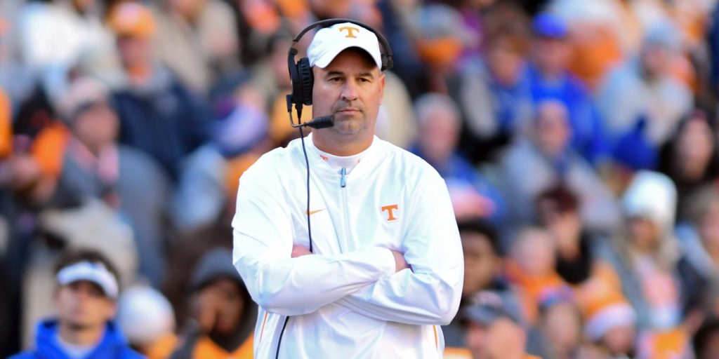 Opposing coach puts Jeremy Pruitt's Tennessee rebuild into perspective: 'It's going to take five years to get it done'