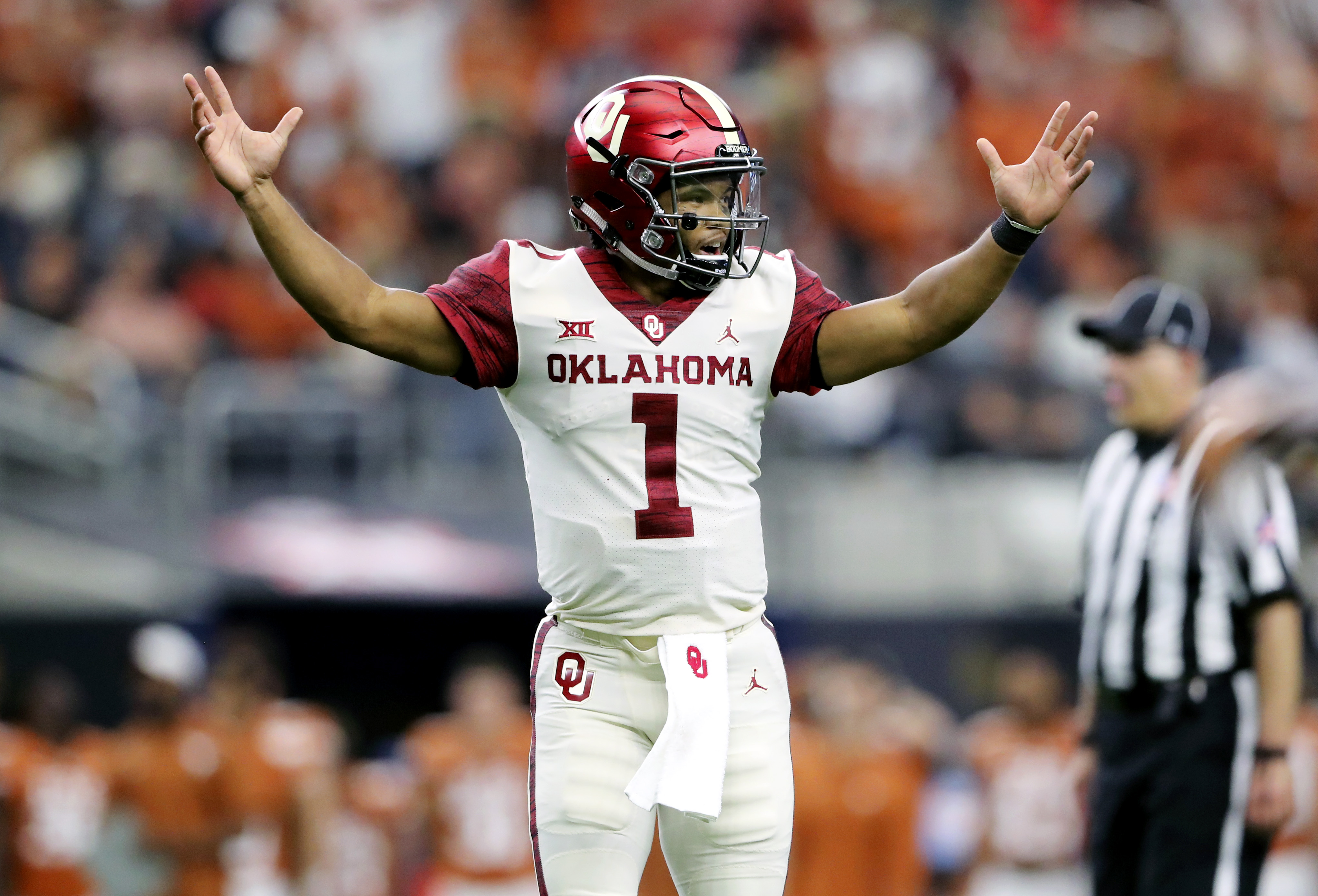 Kyler Murray's official measurements from the Combine are
