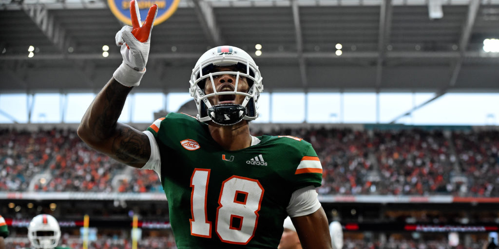 Miami graduate transfer Lawrence Cager announces he will play for Georgia in 2019