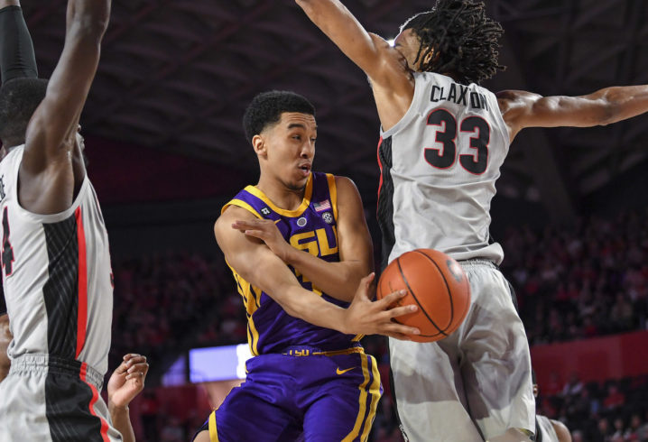 0c9a7660ac0 NCAA Tournament 2019: LSU's seed, first-round opponent and location