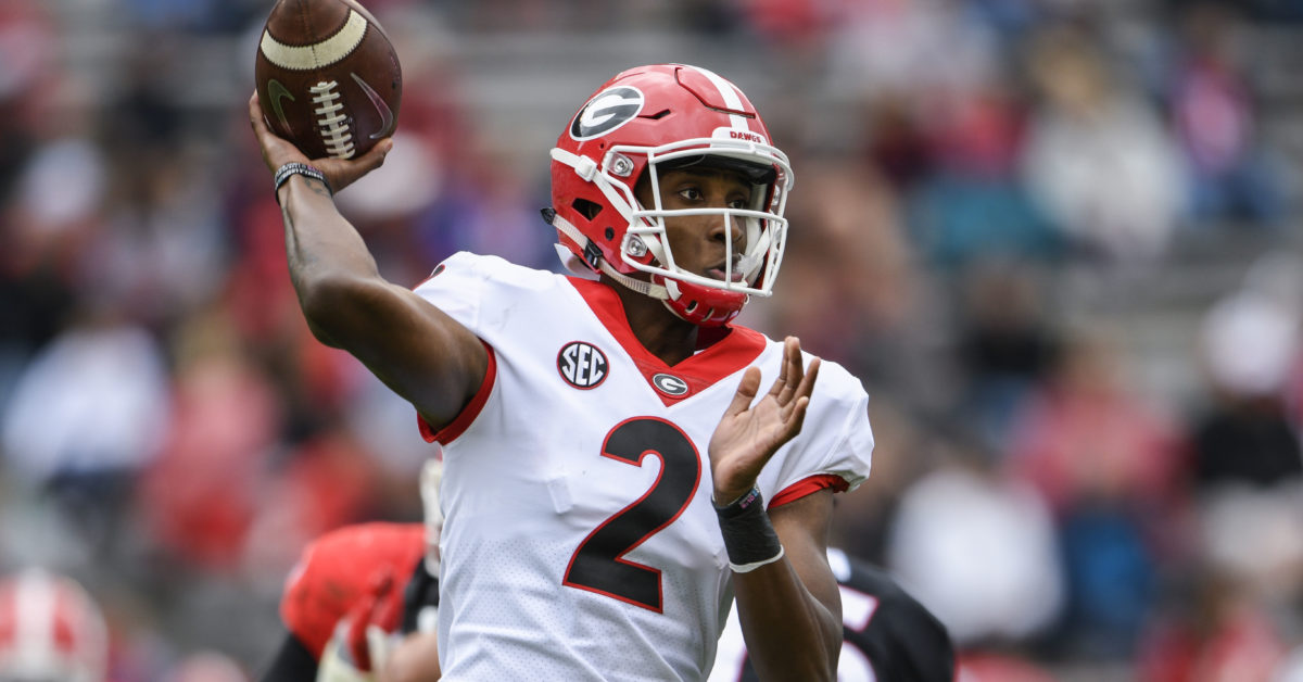 10 Things To Know About D Wan Mathis A Contender To Become Georgia S Starting Quarterback In 2020