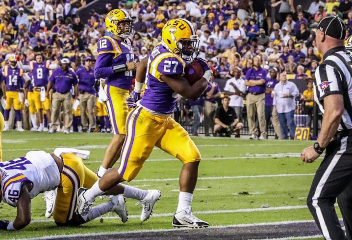 LSU running back arrested for gambling with false ID